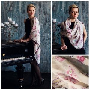 New! Шелковый платок DI DANELI Арт.2052