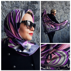 New! Шелковый платок DI DANELI Арт. 2055
