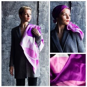 New! Шелковый платок DI DANELI Арт. 2056