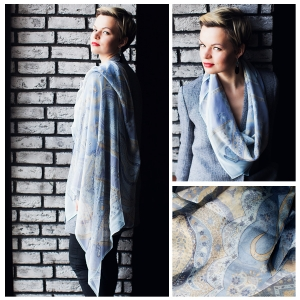 New! Шелковый платок DI DANELI Арт. 2057