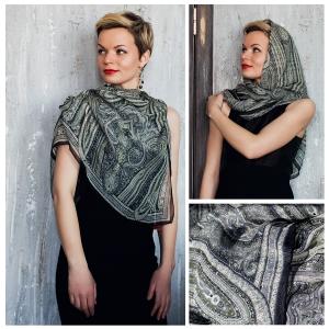 New! Шелковый платок DI DANELI Арт. 2058