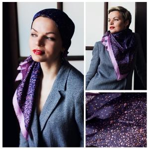 New! Шелковый платок DI DANELI Арт. 2064