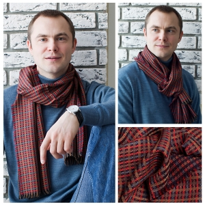 Мужской шарф DI DANELI Арт.9001