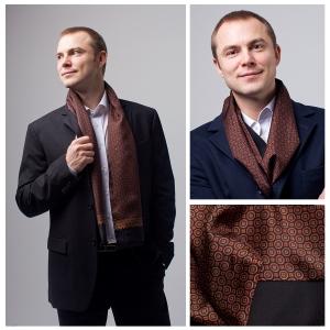 Мужской шарф DI DANELI Арт.9007